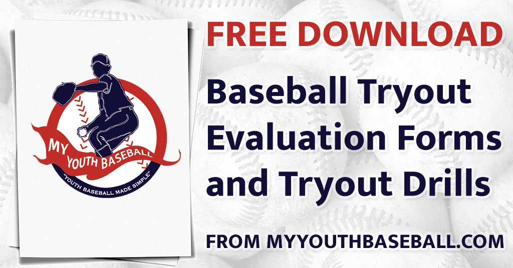 Baseball Tryout Evaluation Forms